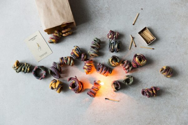 Firelighter made from waste