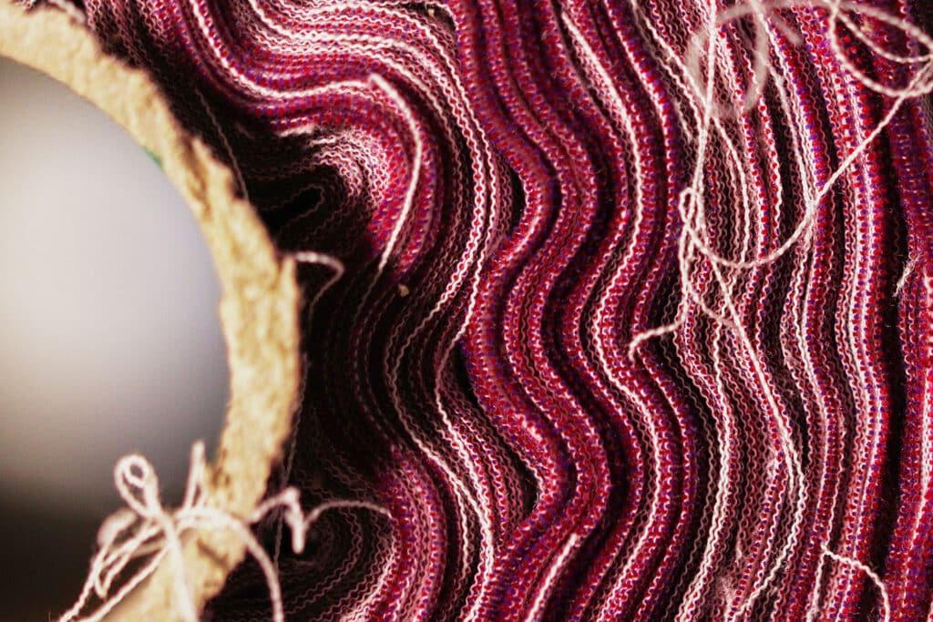 Bio-Rohstoffe Baumwolle Stoffrolle
